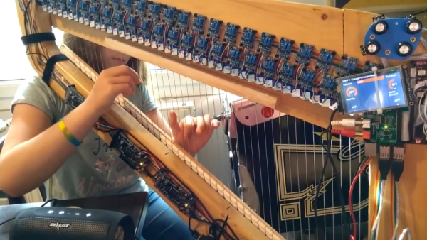 MIDI HARP LOOKS PRETTY SHARP