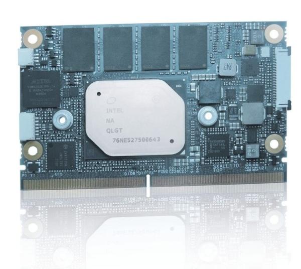 NEW KONNEW KONTRON SMARC-SXAL4 (E2) MODULE WITH UP TO 8 GBYTE LPDDR4 MEMORY DOWNTRON SMARC-SXAL4 (E2) MODULE WITH UP TO 8 GBYTE LPDDR4 MEMORY DOWN