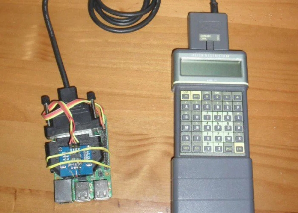 Raspberry Pi brings new features to vintage Psion organiser
