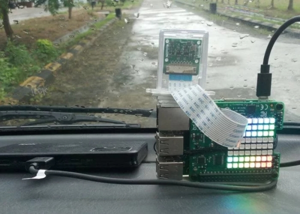 Raspberry Pi car impact recorder