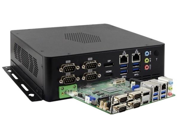 SLIM MINI-ITX SYSTEM WITH AMD RYZEN EMBEDDED V1000 SOC