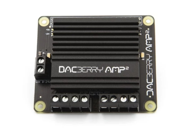 Raspberry Pi DACBerry AMP 4Ch x 60W 192Khz Class-D amplifier €99