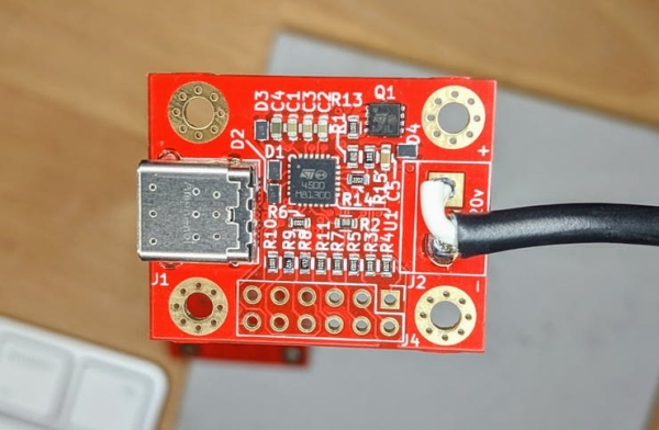 USB-PD STAND-ALONE ADAPTER BOARD FROM OXPLOT