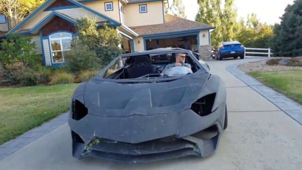 DIY LAMBO THAT MADE THE REAL LAMBORGHINI TAKE NOTICE