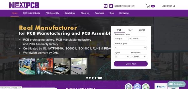 NEXTPCB.COM SERVICE REVIEW