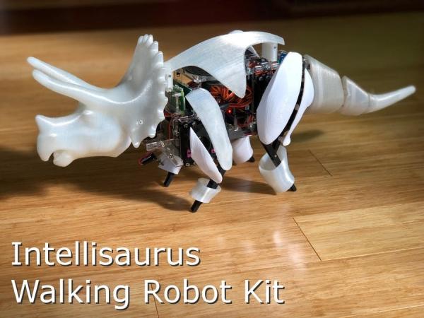 Intellisaurus - Dinosaur Robot Kit