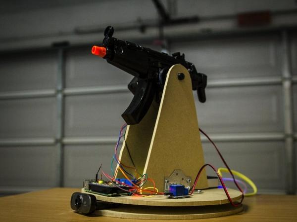Raspberry-Pi-Motion-Tracking-Gun-Turret