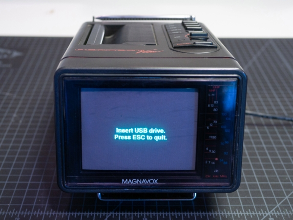 PORTABLE VIDEO LOOPER IS EASY AS PI