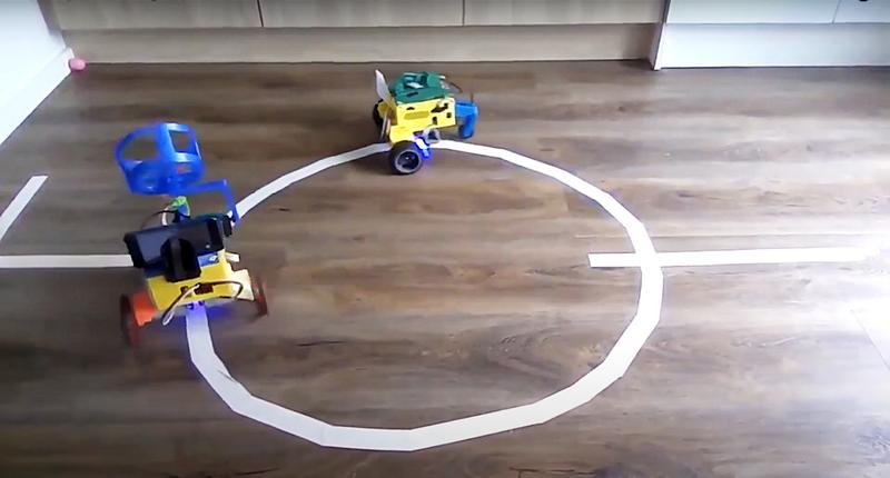 AUTONOMOUS MULTI-TASK PERFORMING ROBOT