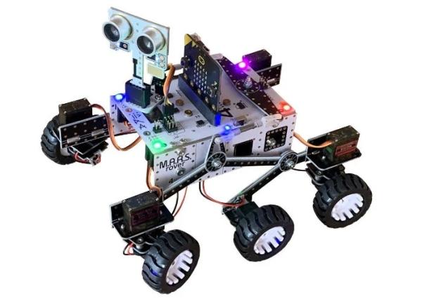 Raspberry Pi Zero or Microbit M.A.R.S. Rover robot £120