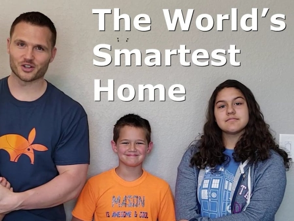 World's Smartest Home feat. Blockchain Chores & Kids Crypto