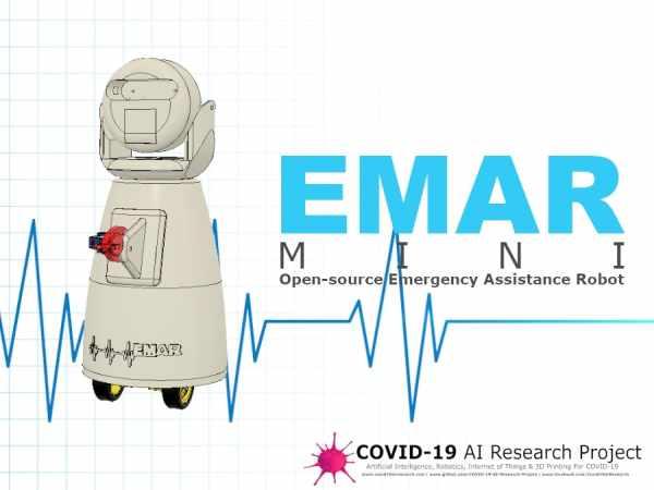 EMAR Mini - Emergency Assistance Robot