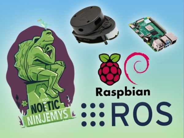 LiDAR integration with ROS Noetic on Raspberry Pi OS
