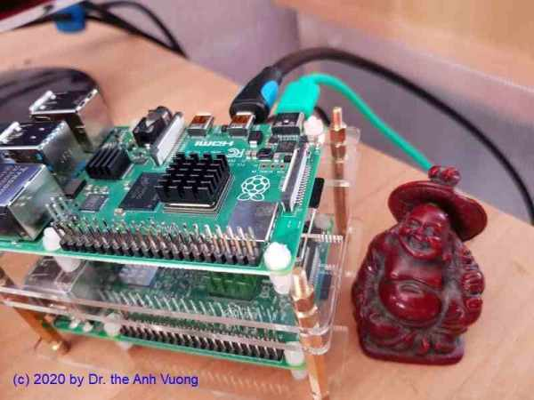 Low cost Samba Server - Raspberry PI 4