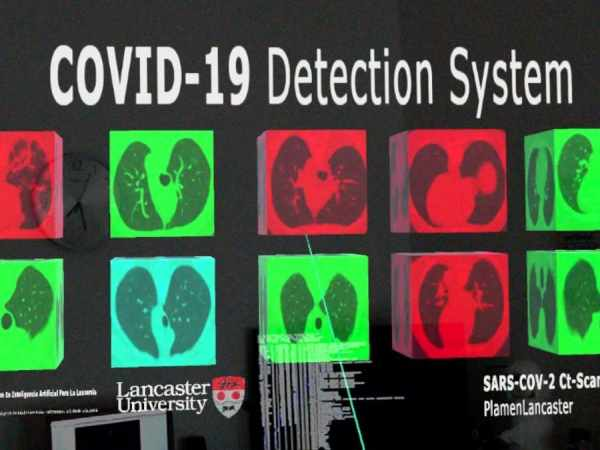 Magic Leap 1 COVID-19 Detection System