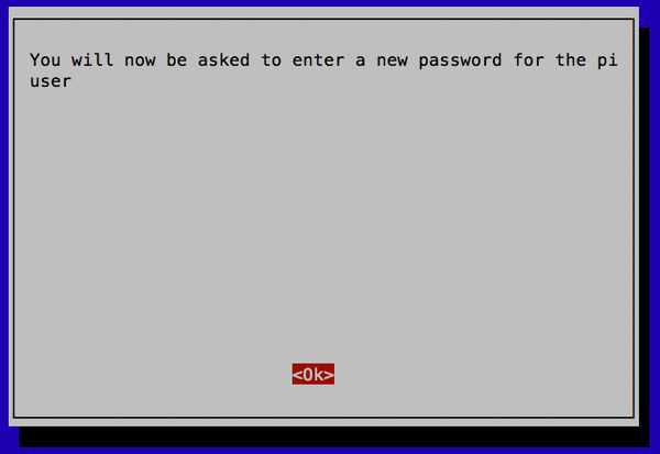 Changing Your Raspberry pi Password