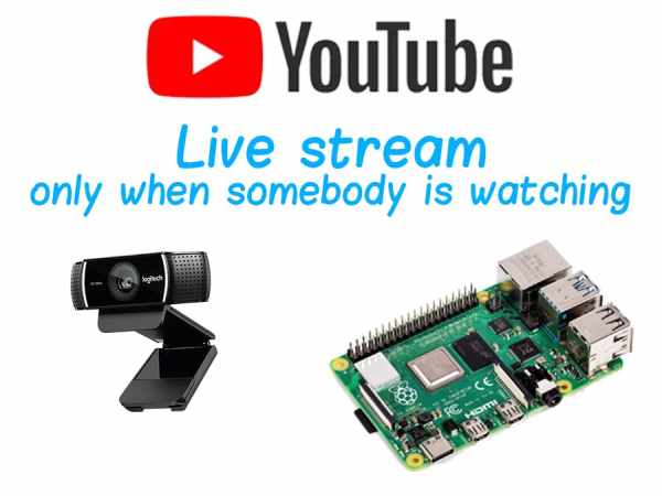 Streaming From Raspberry Pi to YouTube