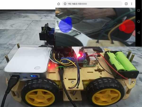 Wireless Video Surveillance Robot using Raspberry Pi
