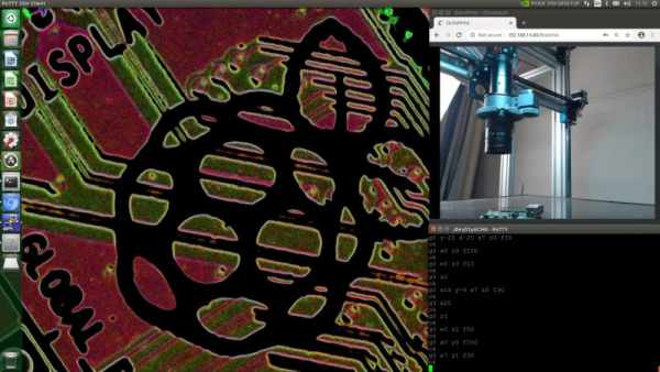 MODIFIED 3D PRINTER MAKES A GREAT MICROSCOPE, TOO